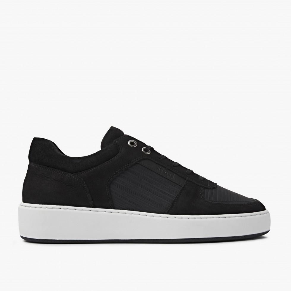 Nubikk Jiro Lima Black Sneakers