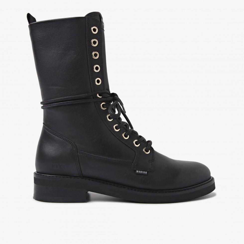 Nubikk Sarray Day Black Boots