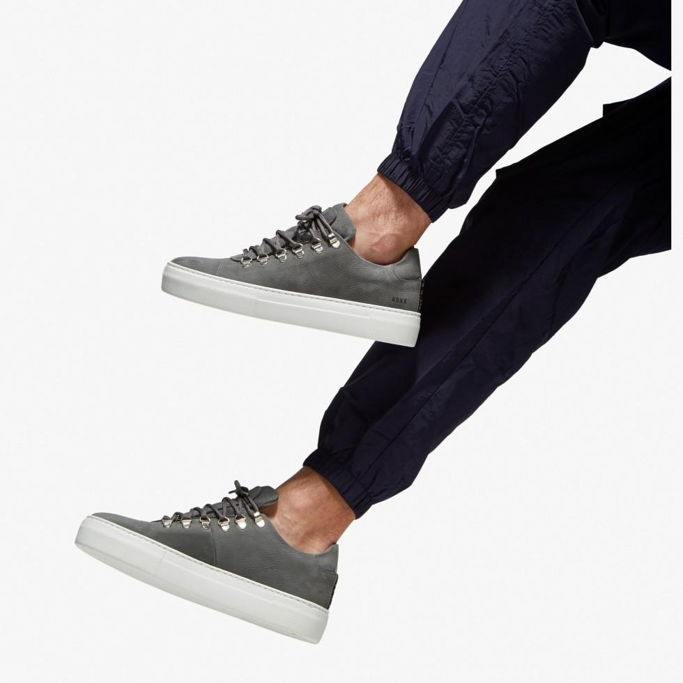 Nubikk Jagger Nubuck Grey Sneakers