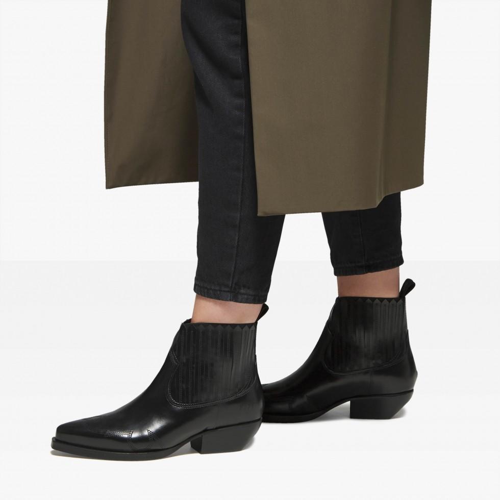 Nubikk Holly Caro Black Ankle Boots