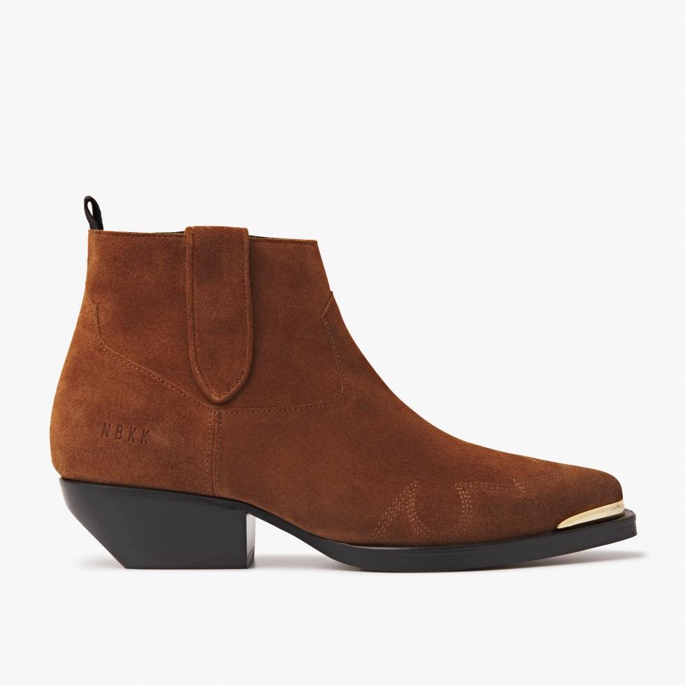 Nubikk Holly Santos Cognac Ankle Boots