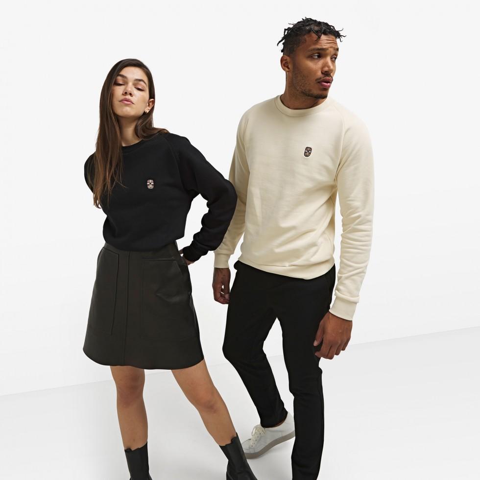 Nubikk Sem Black Sweater