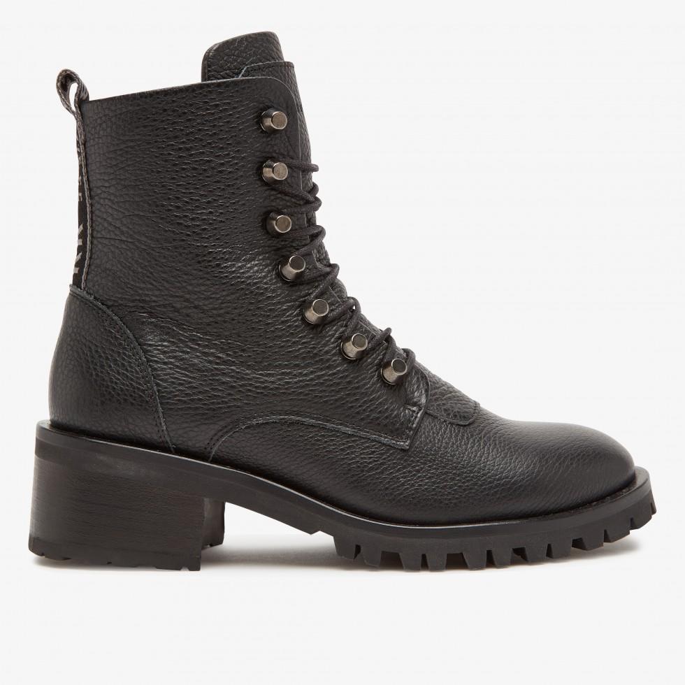 Nubikk Djuna Cone Black Biker Boots