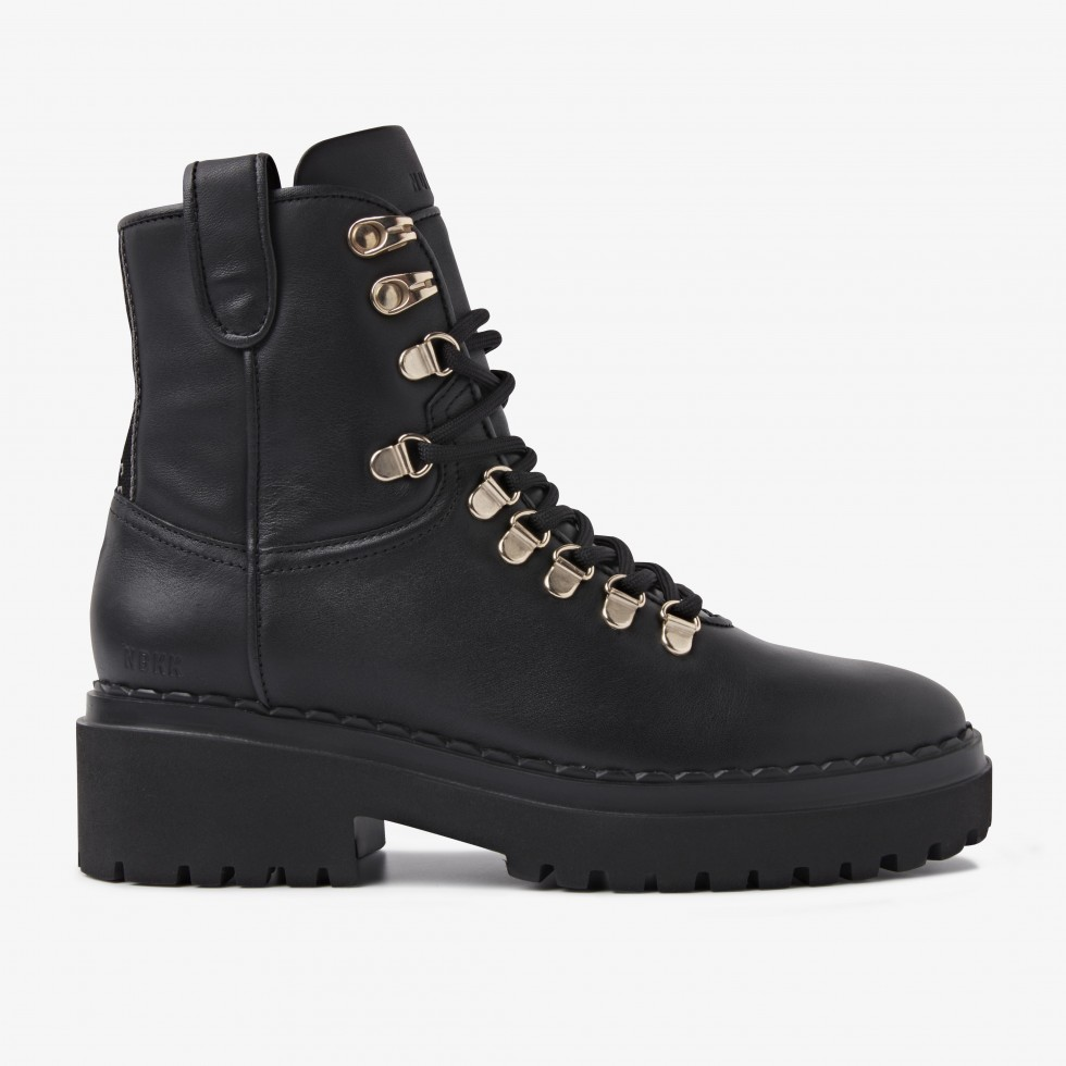 Nubikk Fae Roma Black Boots