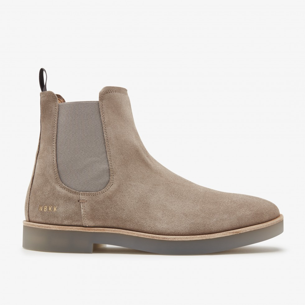 Nubikk Logan Chelsea Taupe Boots