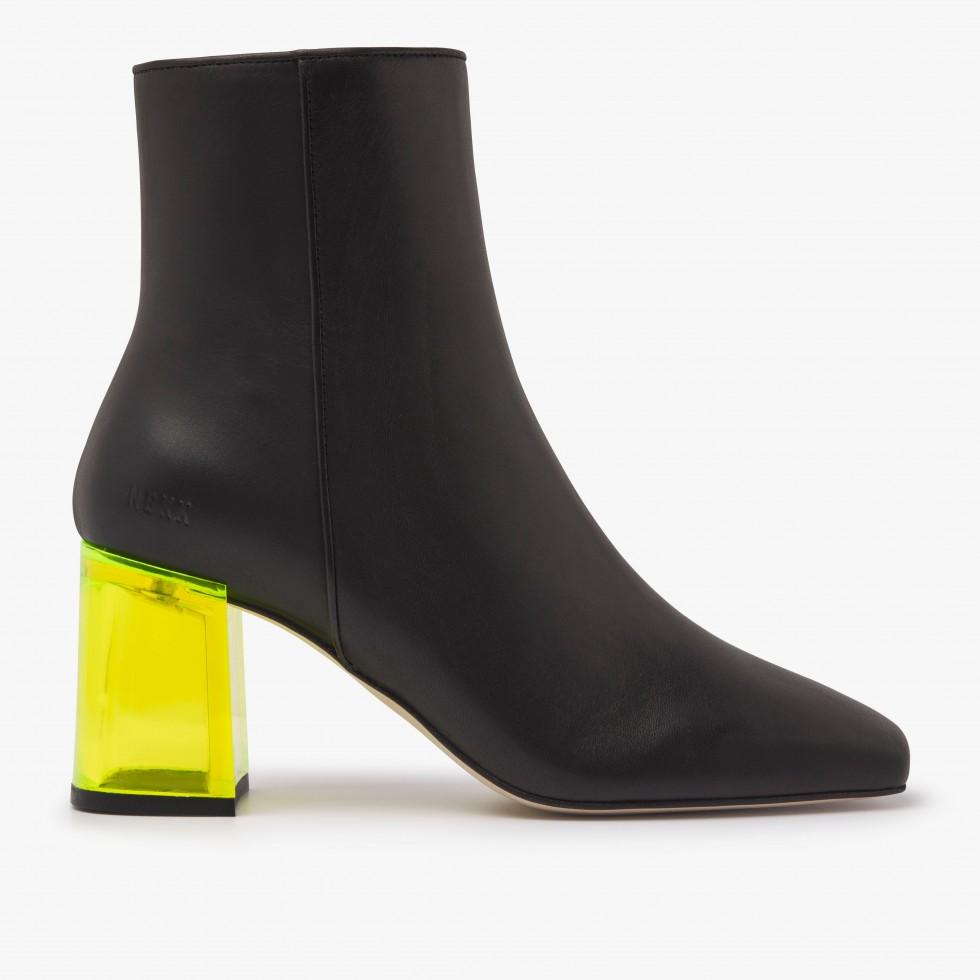 Nubikk Joy Ardena Black Ankle Boots