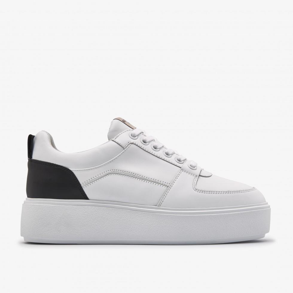 Nubikk Elise Blush White Sneakers