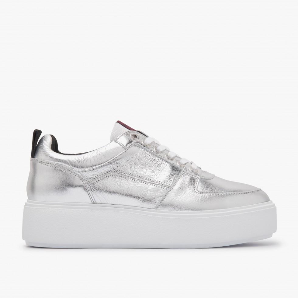 Nubikk Elise Blush Silver Sneakers