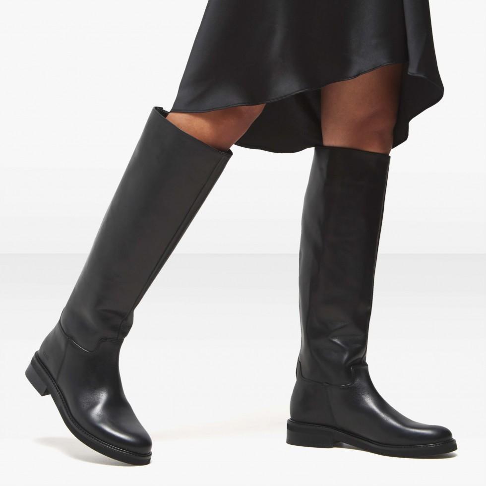 Nubikk Sarray Zip Black Boots