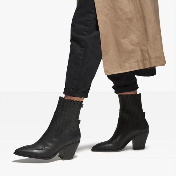 Nubikk Romee Moc Black Ankle Boots