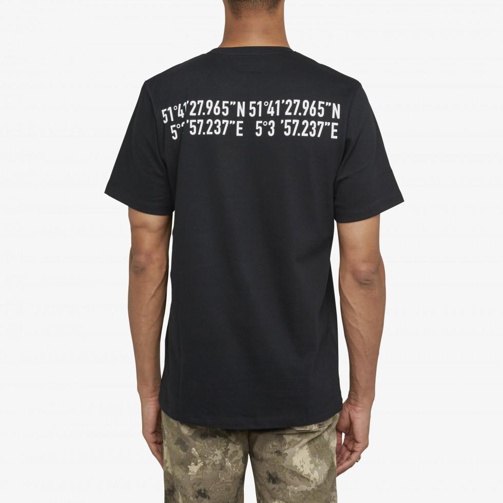 Nubikk Oliver GPS Black T-shirt