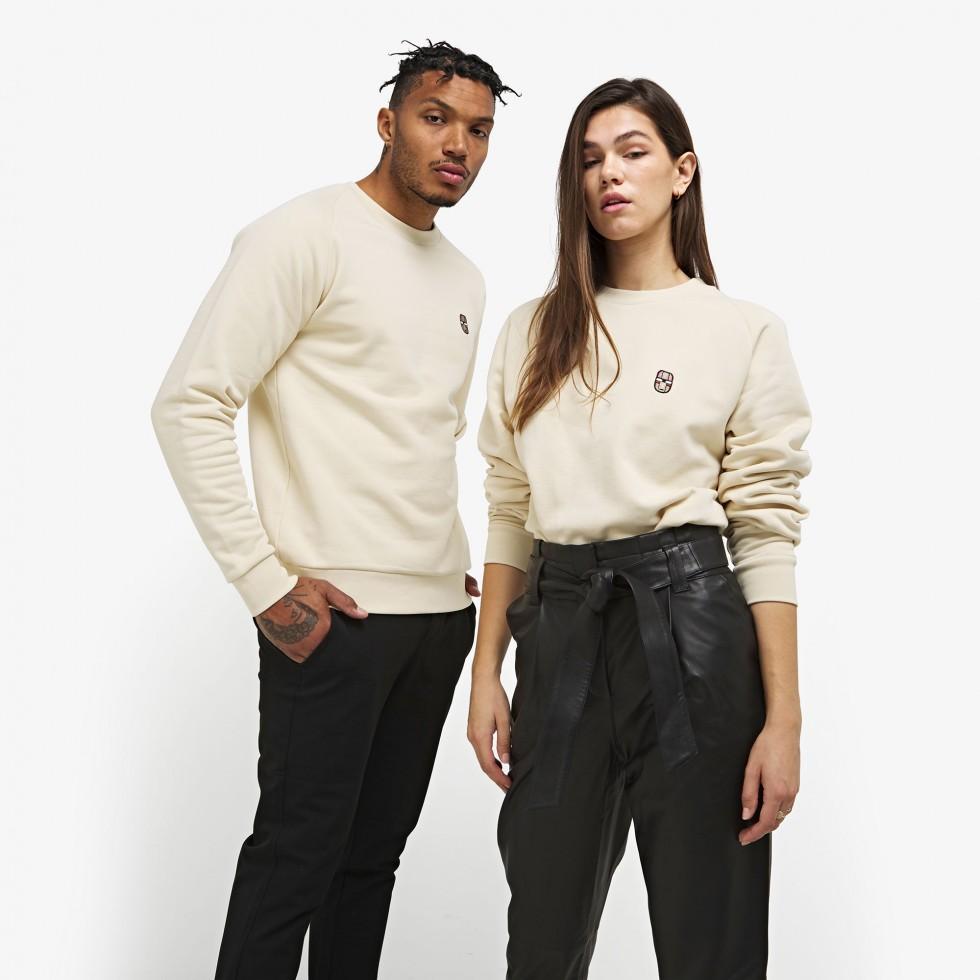 Nubikk Sem Off White Sweater