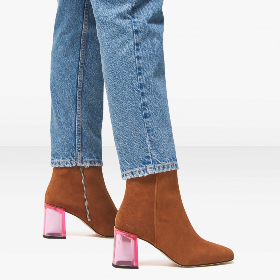 Nubikk Joy Ardena Cognac Ankle Boots