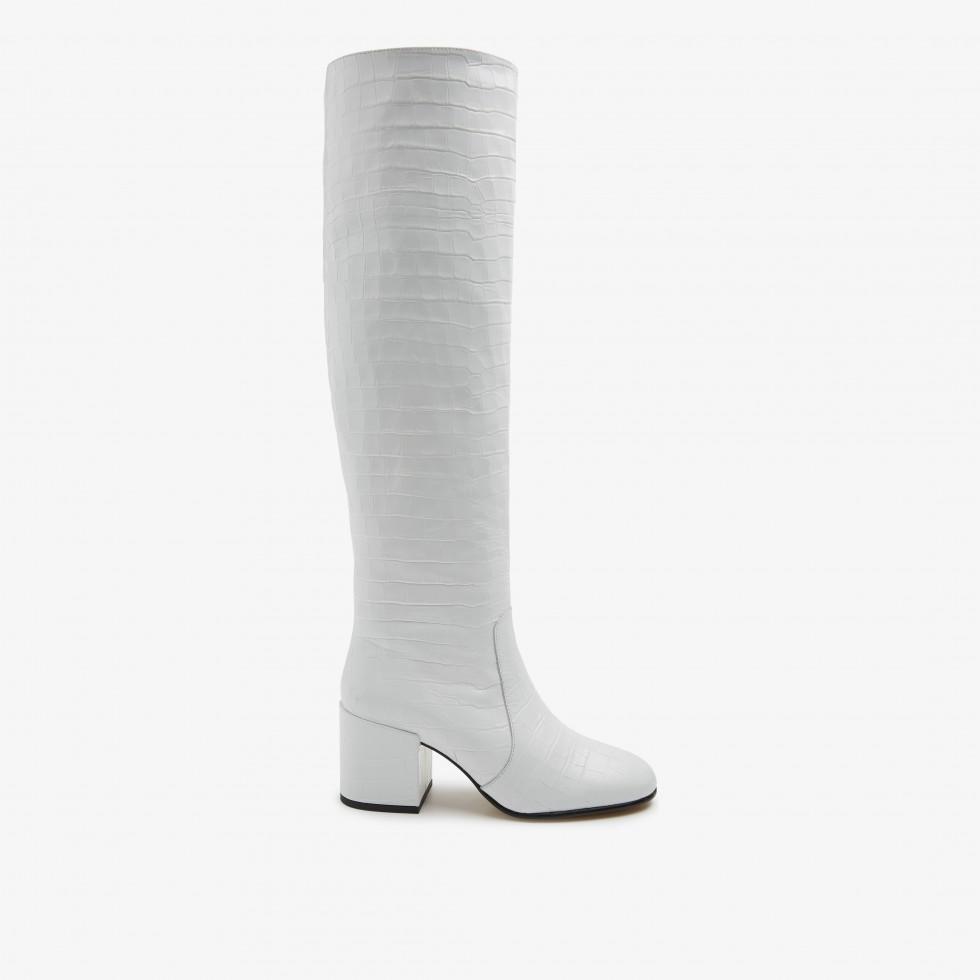 Nubikk Gigi Melba White Boots