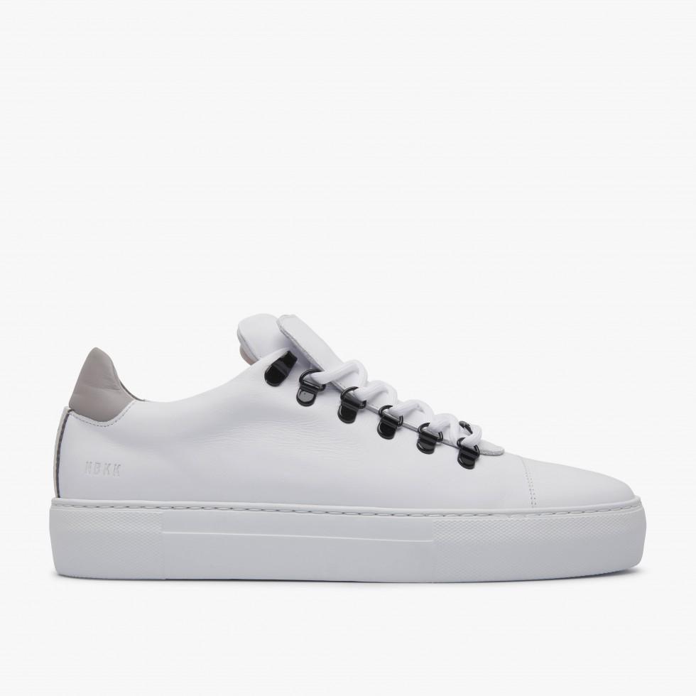 Nubikk Jagger Calf Multi White Sneakers