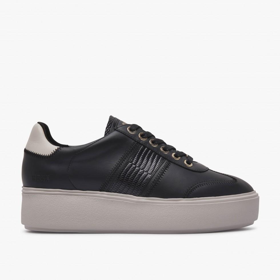 Nubikk Elise Ziya Black Combi Sneakers