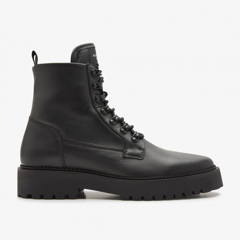 Nubikk Logan Harbor Black Boots