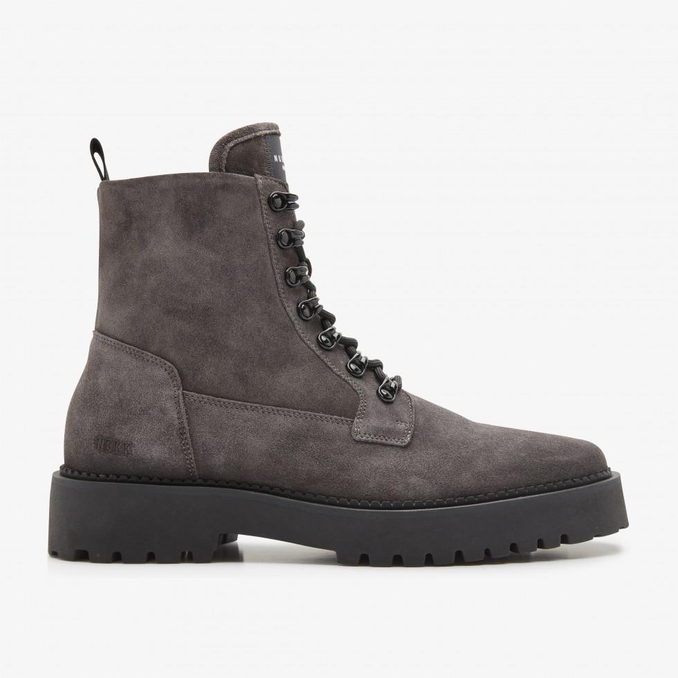 Nubikk Logan Harbor Suede Grey Boots
