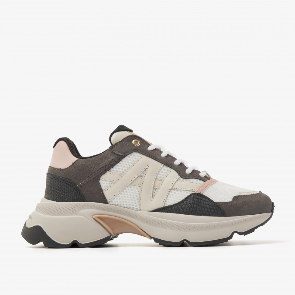 Nubikk Ross Trek L Multi Grey Sneakers