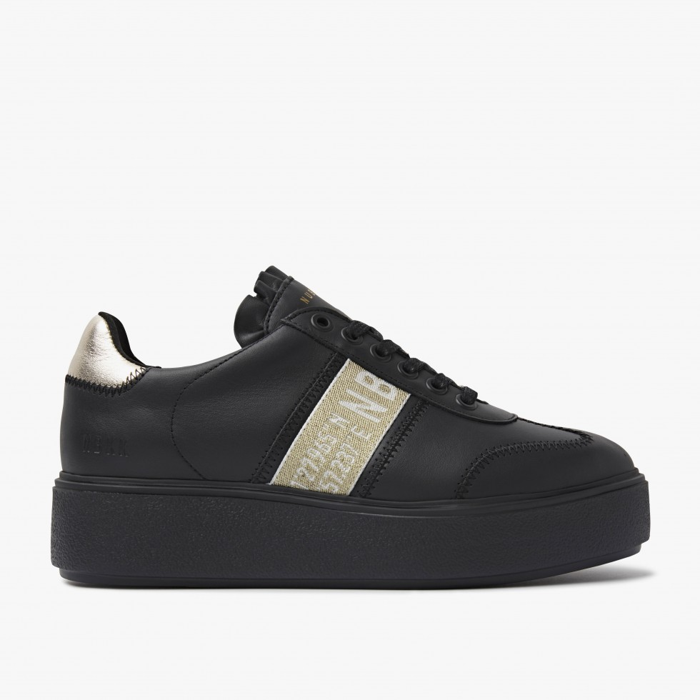 Nubikk Elise GPS Black Raven Sneakers