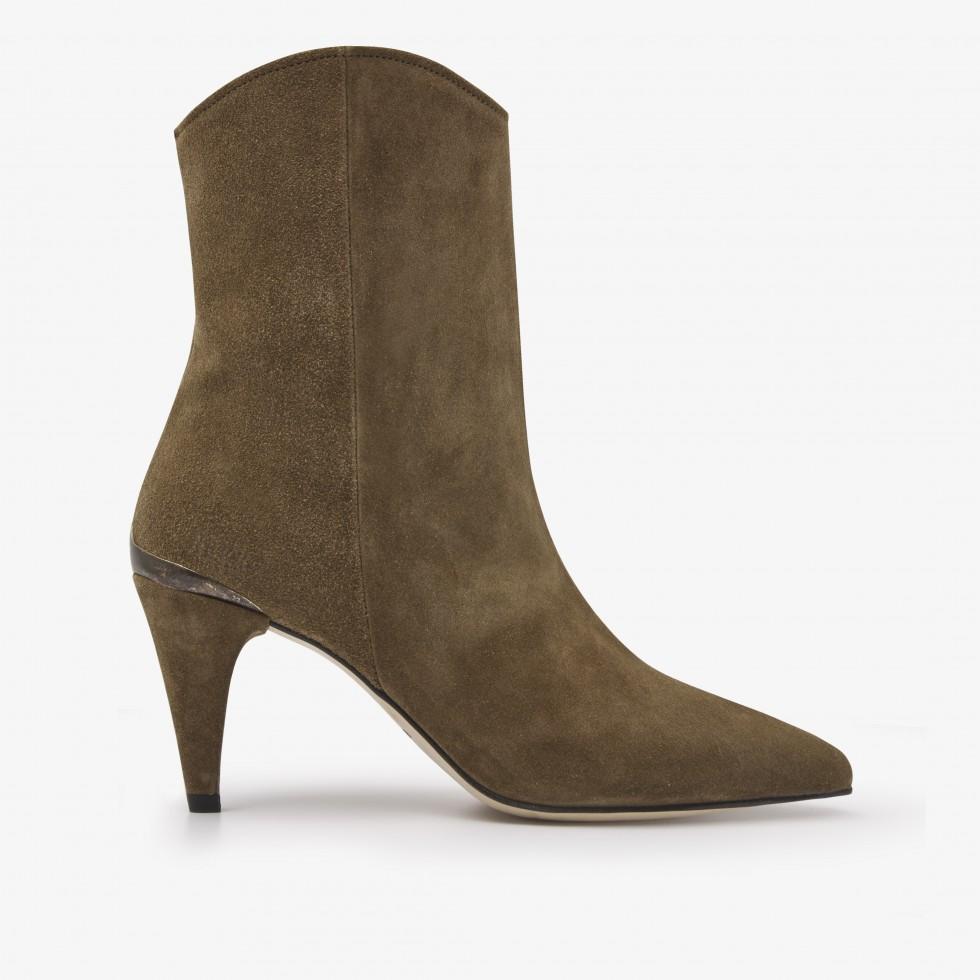 Nubikk Ace Boheme Taupe Ankle Boots