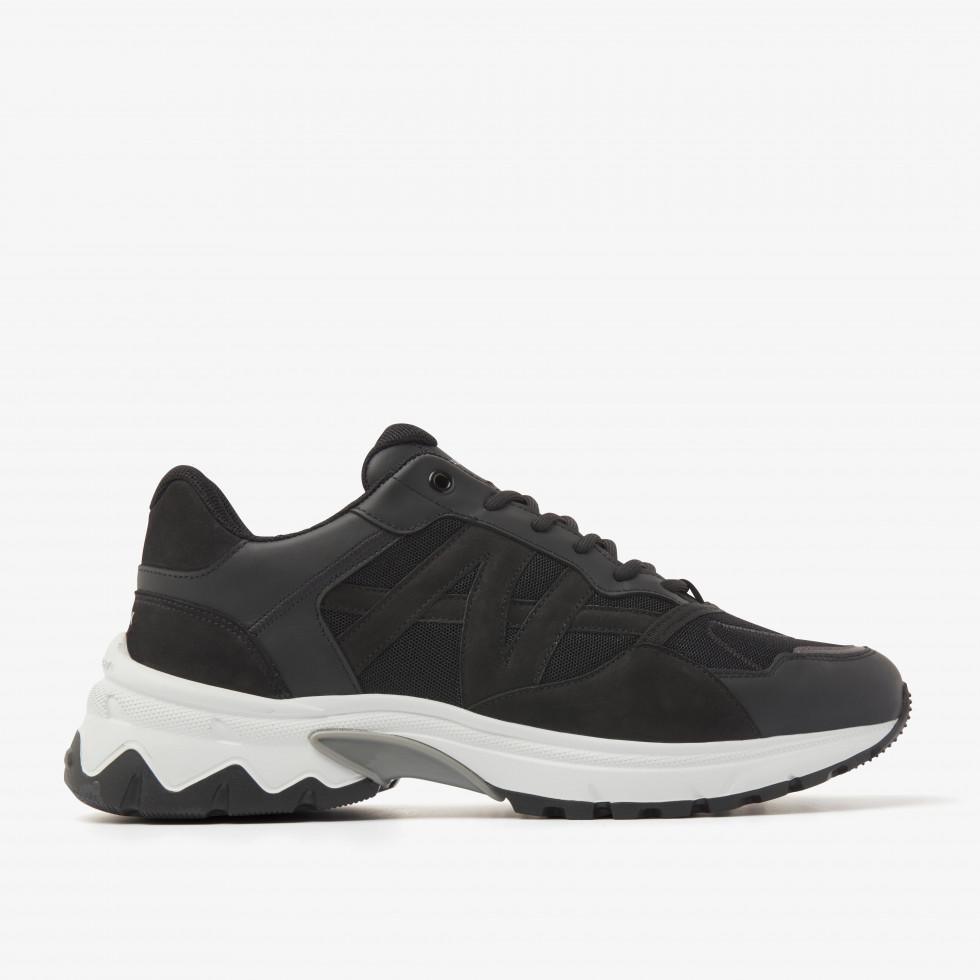 Nubikk Ross Trek M Black Sneakers