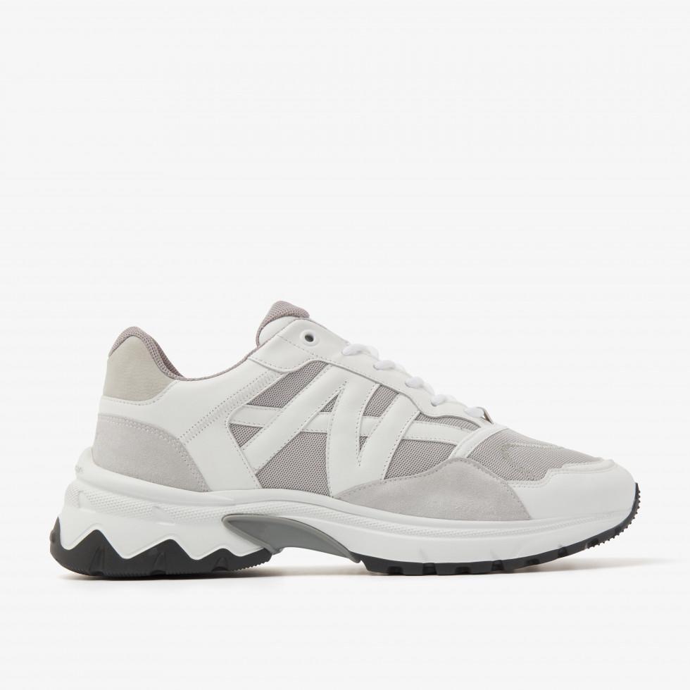 Nubikk Ross Trek M White Sneakers