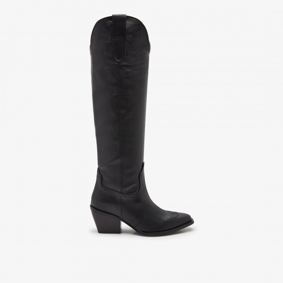 Nubikk Alex Gilly Black Boots