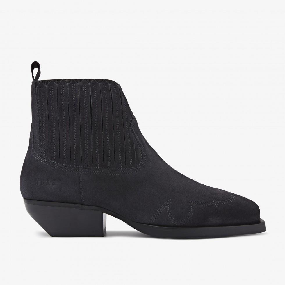 Nubikk Holly Caro Anthracite Ankle Boots