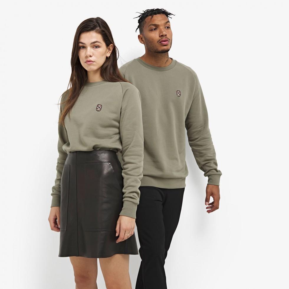 Nubikk Sem Green Sweater