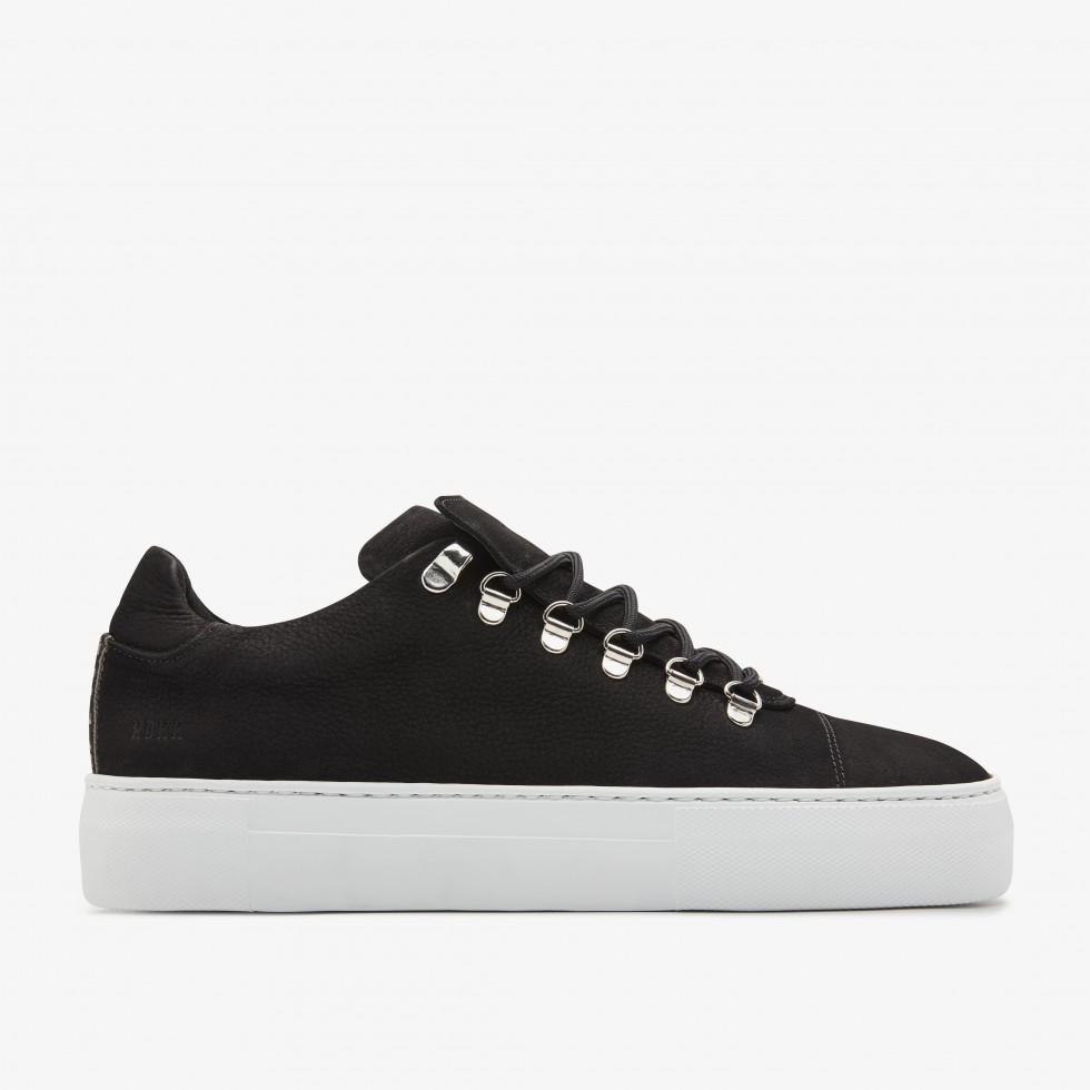 Nubikk Jagger Nubuck Black Sneakers