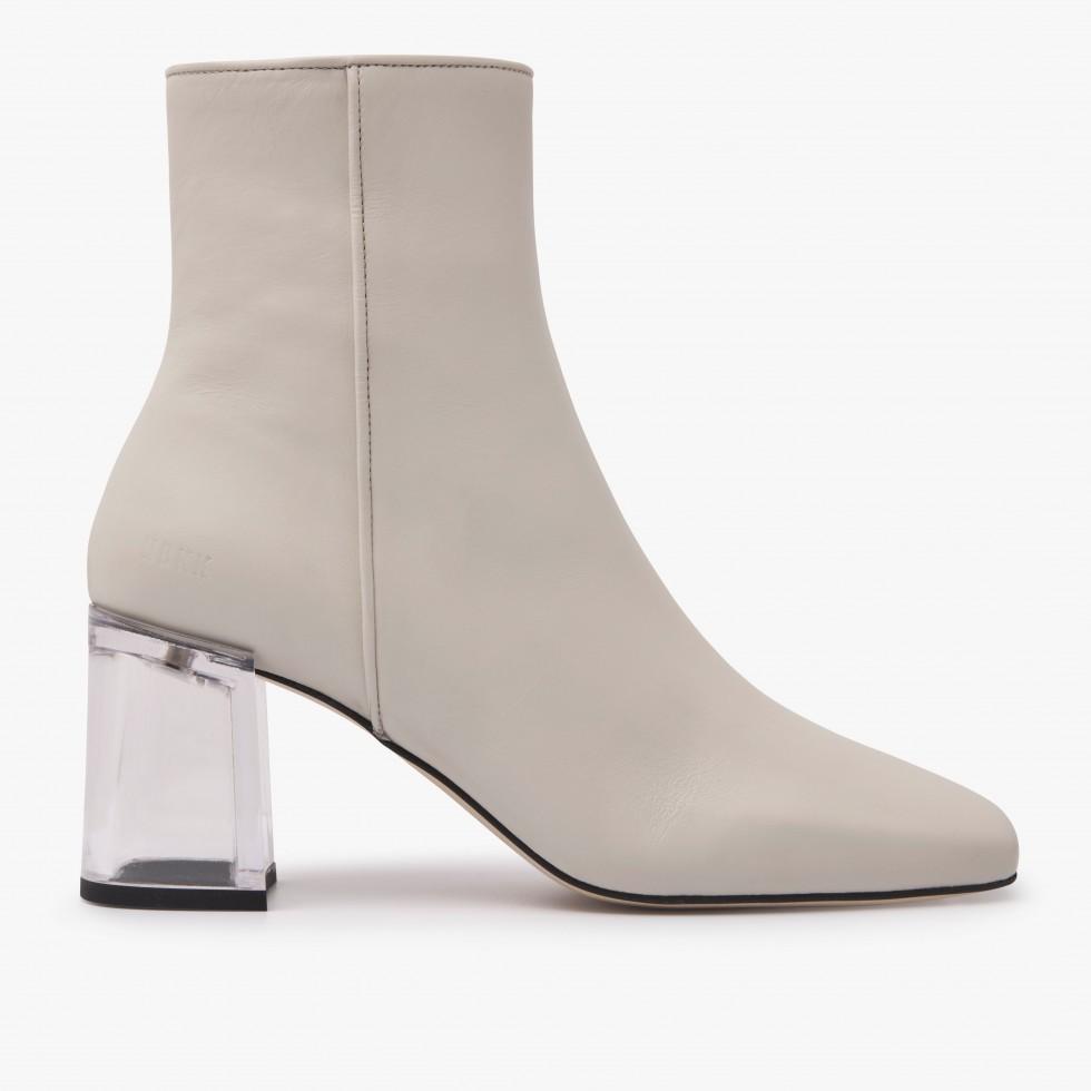 Nubikk Joy Ardena Beige Ankle Boots