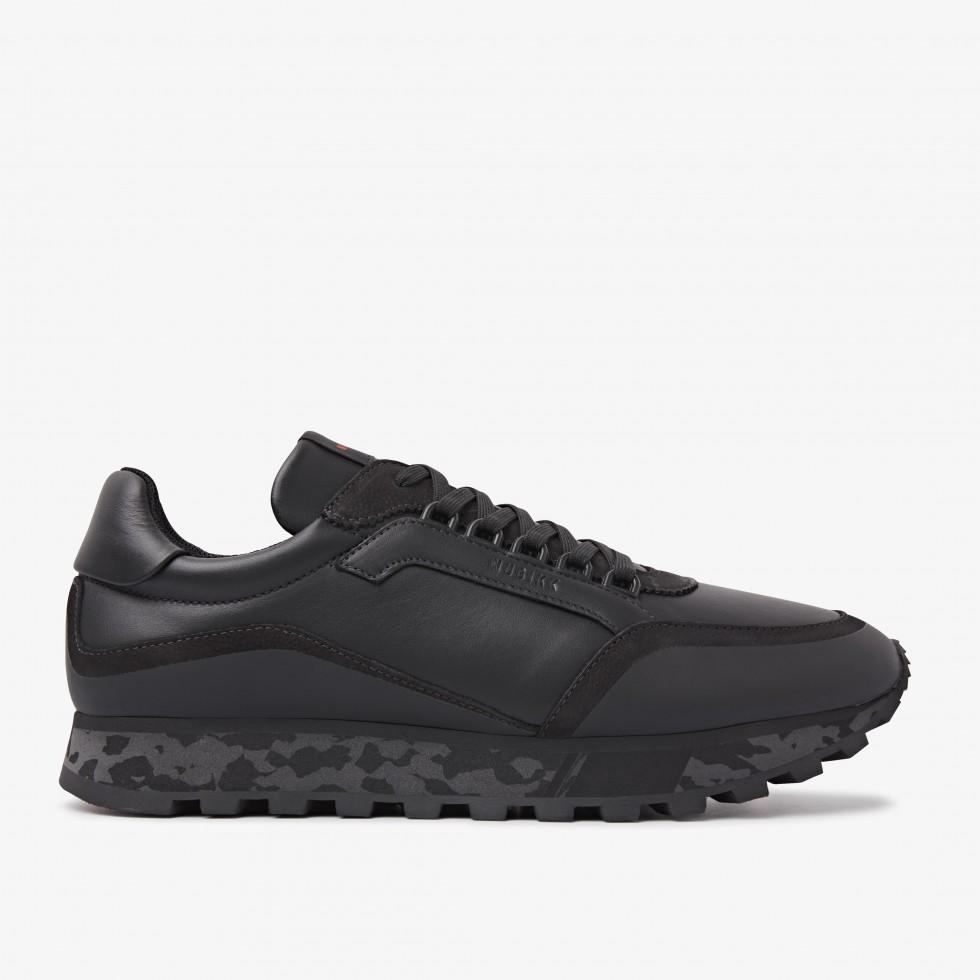 Nubikk Delta D Black Raven Sneakers
