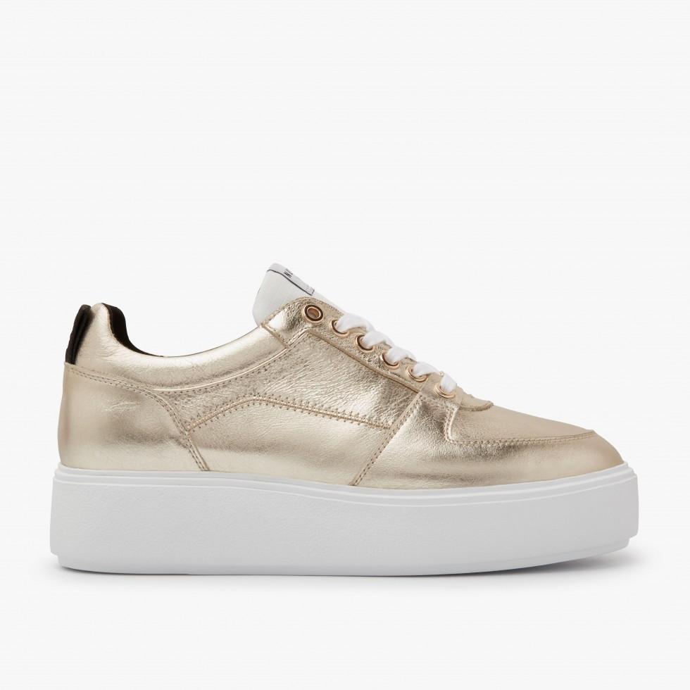 Nubikk Elise Blush Gold Sneakers