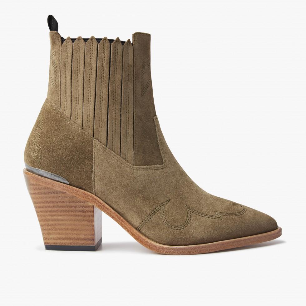 Nubikk Romee Cura Taupe Ankle Boots
