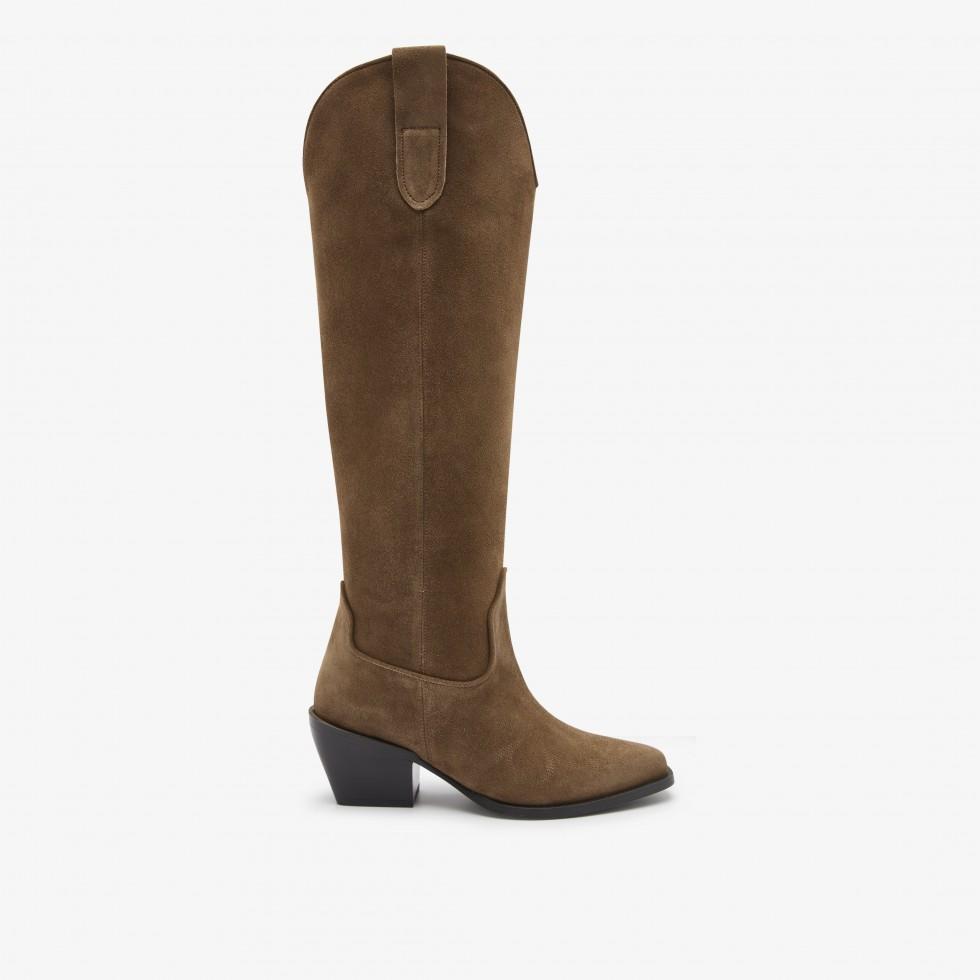 Nubikk Alex Gilly Taupe Boots