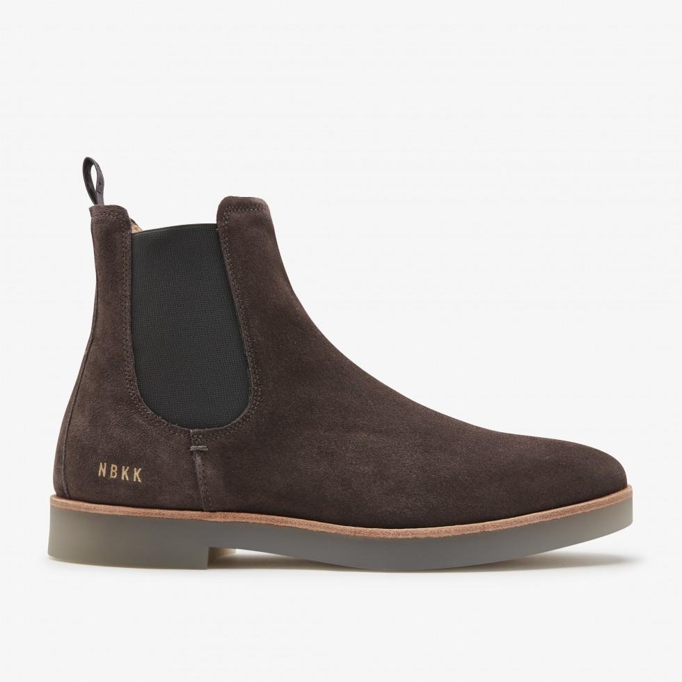 Nubikk Logan Chelsea Grey Boots