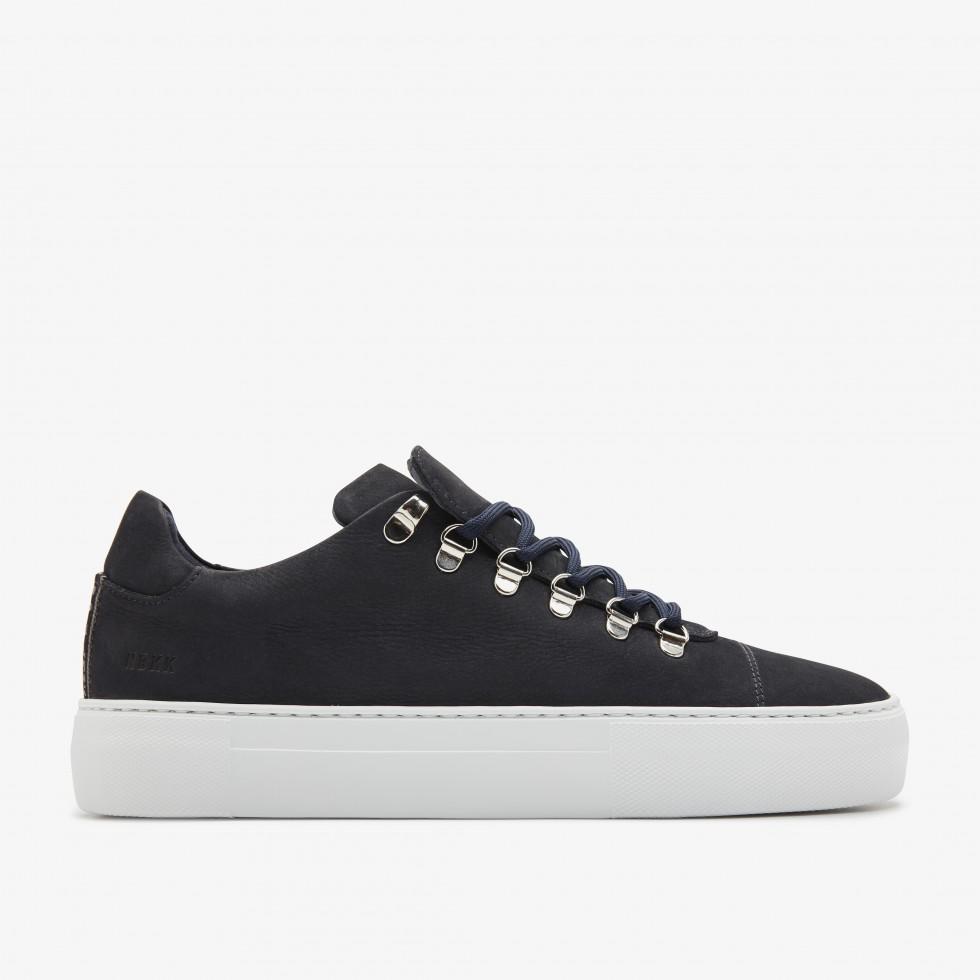 Nubikk Jagger Nubuck Navy Sneakers